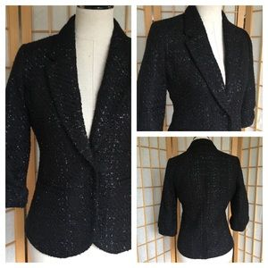 Jennifer Lopez Black Evening Blazer SZ S